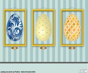 Puzzle Photos d'oeufs de Pâques