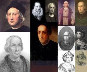 Puzzle Photos de Christophe Colomb était l'amiral commandant de l'expédition qui est venu en Amérique en 1492
