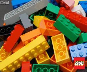 Puzzle Pièces de Lego