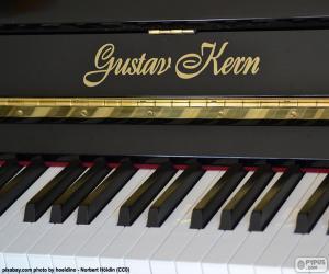 Puzzle Piano noir