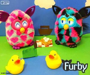 Puzzle Pique-nique Furby