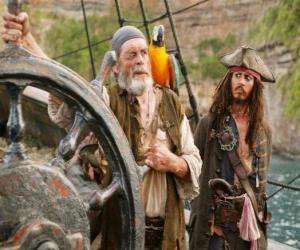 Puzzle Pirate à la barre
