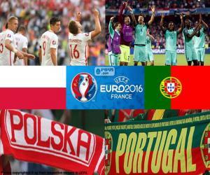 Puzzle PL-PT, quarts de finale Euro 2016