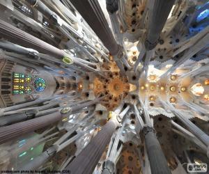 Puzzle Plafond, Sagrada Familia, BCN