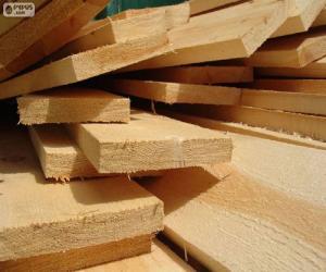 Puzzle Planches de bois