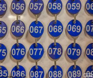 Puzzle Plaques numérotées