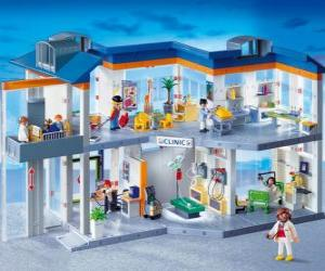 Puzzle Playmobil clinique