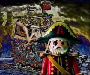 Puzzle Playmobil Pirates