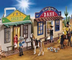 Puzzle Playmovil Ouest américain