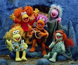 Puzzle Plusieurs chants de Muppets