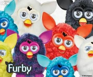 Puzzle Plusieurs Furbys
