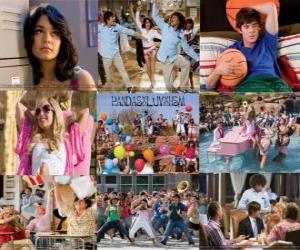 Puzzle Plusieurs images de High School Musical 2