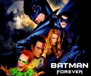 Puzzle Plusieurs personnages de Batman