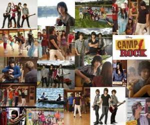 Puzzle Plusieurs photos de Camp Rock