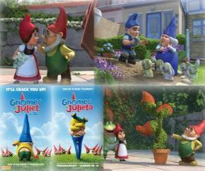 Puzzle Plusieurs photos de Gnoméo et Juliette
