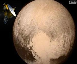 Puzzle Pluton et New Horizons