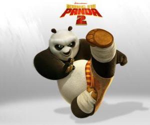 Puzzle Po est le principal protagoniste de l'aventure du film Kung Fu Panda 2