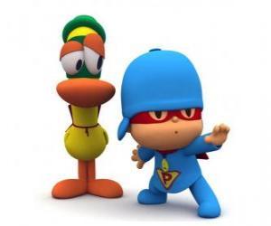 Puzzle Pocoyo avec Pato