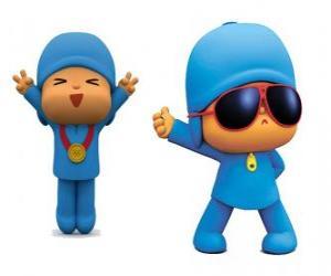 Puzzle Pocoyo est un petit enfant, ludique et amusant qui découvre le monde