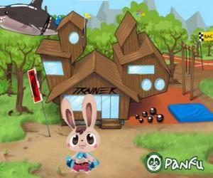 Puzzle Pokopet Bugsy, un lapin, une sorte d'animaux de compagnie de Panfu