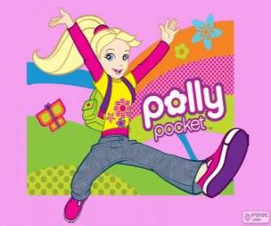 Puzzle Polly, la star de Polly Pocket