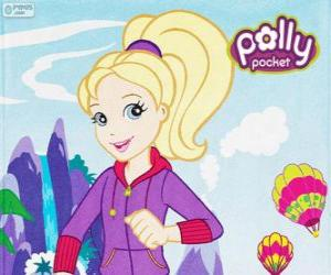Puzzle Polly Pocket avec vêtement de sport