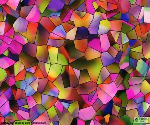 Puzzle Polygones de couleurs