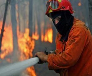 Puzzle Pompier en action