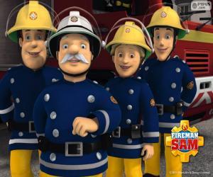 Puzzle Pompiers de Pontypandy