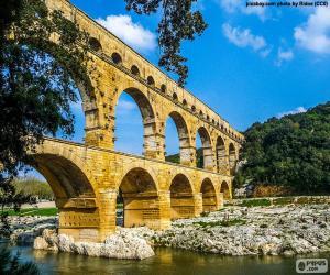 Puzzle Pont du Gard, France