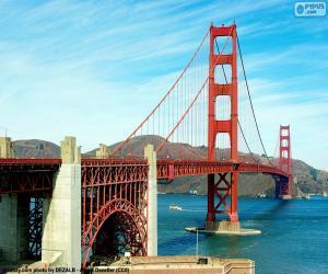 Puzzle Pont du Golden Gate, USA