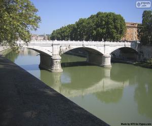 Puzzle Pont Giuseppe Mazzini, Rome