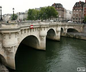 Puzzle Pont Neuf, Paris