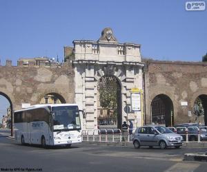 Puzzle Porta San Giovanni, Rome