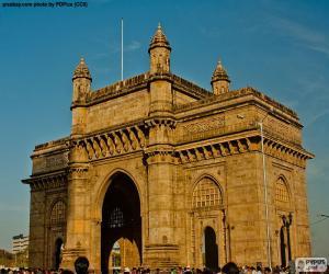 Puzzle Porte de l'Inde, Bombay
