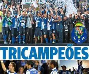 Puzzle Porto, champion de la Ligue de Football de Portugal 2012-2013, Première Division National
