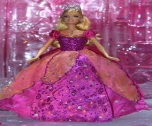 Puzzle Poupée barbie