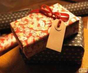 Puzzle Pour qui est le cadeau?