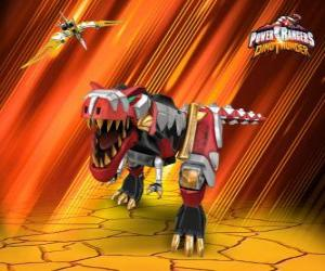Puzzle Power Rangers Dino Thunder