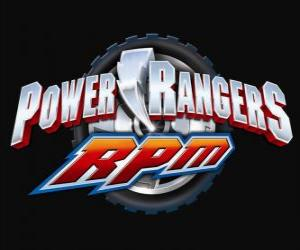 Puzzle Power Rangers RPM Logo