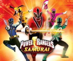 Puzzle Power Rangers Samurai