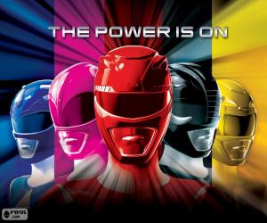 Puzzle Power Rangers, The Power is on