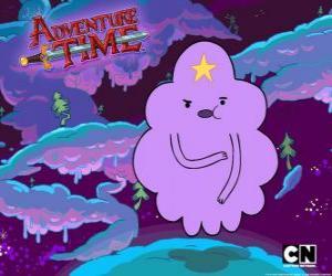 Puzzle Princesse Lumpy Space, un nuage avec une étoile sur le front