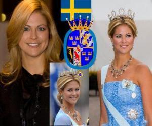 Puzzle Princesse Madeleine de Suède