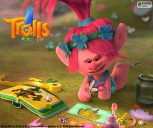 Puzzle Princesse Poppy, Les Trolls