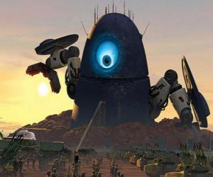Puzzle Probe Robot, le robot extraterrestre ou alien