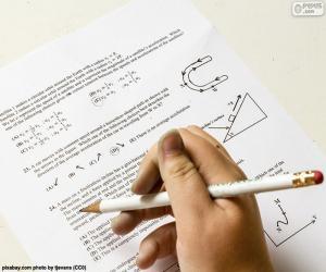 Puzzle Problèmes de physique