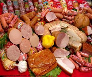 Puzzle Produits de viande
