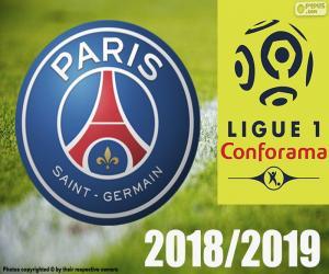 Puzzle PSG, champion 2018-2019