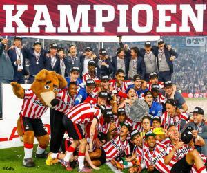 Puzzle PSV Eindhoven champion 2014-2015